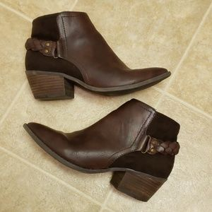 AEO Ankle Boots with Braided Detail | Size 7